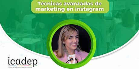 Workshop: Técnicas avanzadas de marketing en Instagram entradas