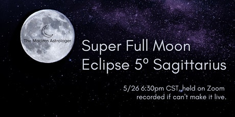 Super Full Moon Lunar Eclipse tickets