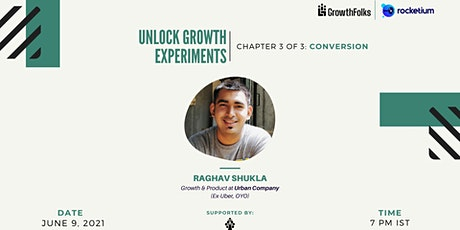 Unlock Growth Experiments | Conversion Special | Growth Folks tickets