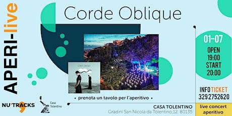 Corde Oblique - AperiLive tickets