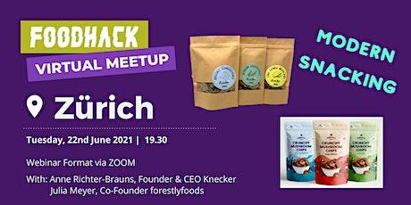 Virtual Meetup by FoodHack Zurich tickets