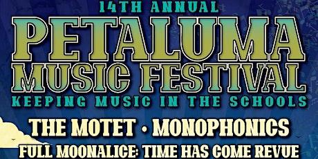 Petaluma Music Festival tickets