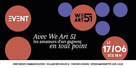 Vente en avant-premiART de la nouvelle collab ALEXANDRE WIRTH x WE ART 51 billets