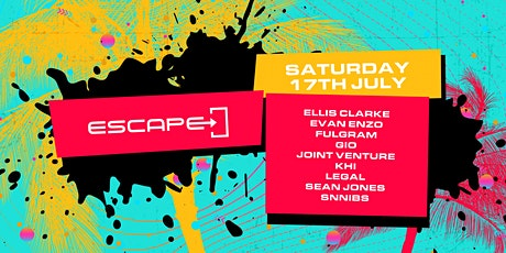 Escape @ R / Bar tickets