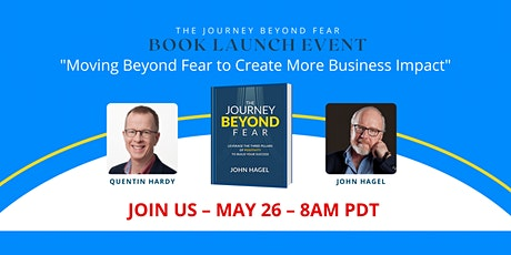 The Journey Beyond Fear - Virtual Conversation with Quentin Hardy tickets