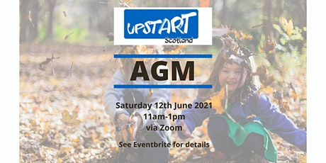 Upstart Scotland AGM 2021 tickets