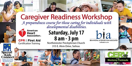 Caregiver Readiness Training (Includes CPR/First Aid Certification) tickets