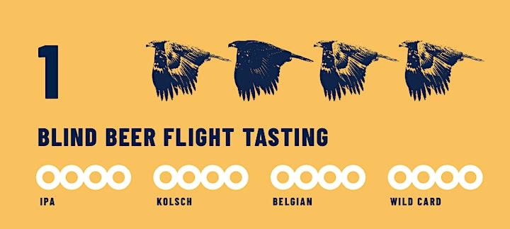 Blind Flight—Outdoor blind beer tasting image