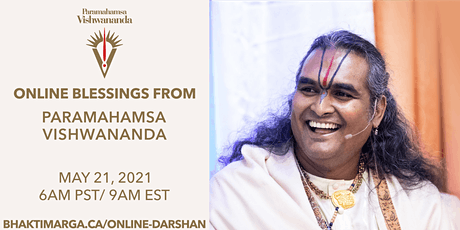 NEW  Online Blessing with Paramahamsa Vishwananda for Canada tickets