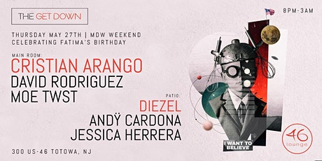 CRISTIAN ARANGO Main Room - DIEZEL Outdoor Patio MDW Thursday May 27th tickets