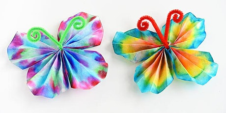 Camp HeHoHa: Coffee Filter crafts-Butterflies and Flowers tickets