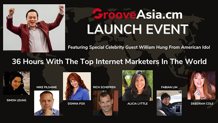 [PG One-Time Only] GrooveAsia.cm Launch Event: 36-Hour Virtual Summit image