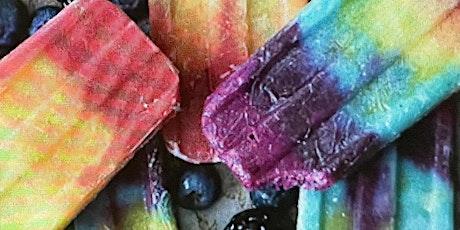 Fresh Fruit Rainbow Popsicles tickets