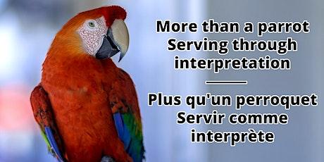 More than a parrot; Plus qu'un perroquet billets