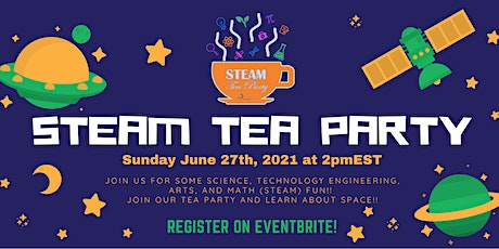 STEAM Tea Party - Outer Space! tickets