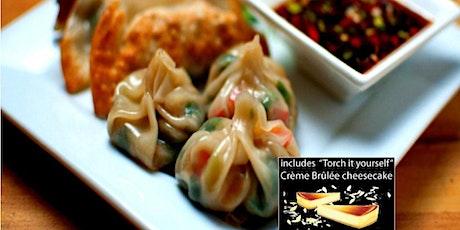 Dumplings for Days Cooking Class  w Wine  & Dessert |Philly tickets