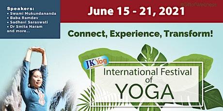 JKYog - International Festival Of Yoga - Free Event tickets