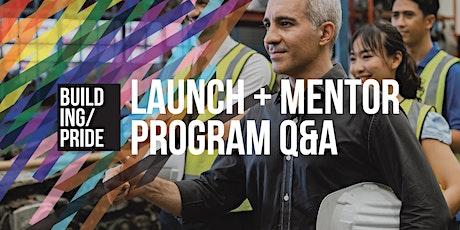Champion: LGBT+ Mentoring Program Launch (Melbourne) tickets