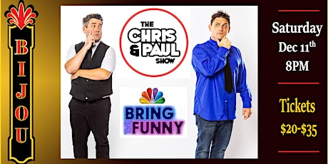 The Chris & Paul Show tickets