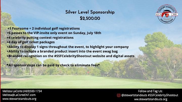 Stewart Standouts Foundation Celebrity Golf Tournament image