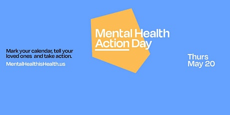 Mental Health Action Day Walk - New Jersey tickets