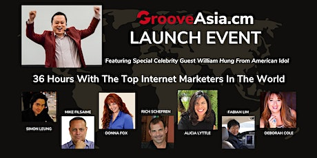 [KL One-Time Only] GrooveAsia.cm Launch Event: 36-Hour Virtual Summit tickets