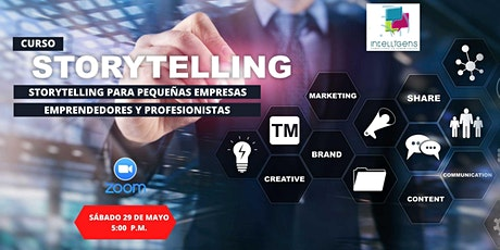 Storytellling para pequeñas empresas y emprendedores boletos