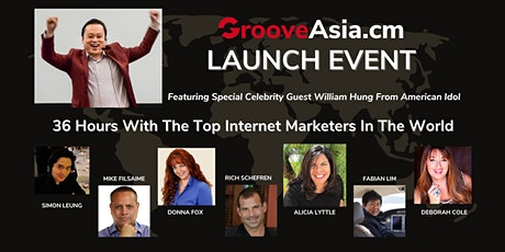 [PG One-Time Only] GrooveAsia.cm Launch Event: 36-Hour Virtual Summit tickets