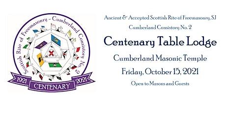 Centenary Table Lodge tickets