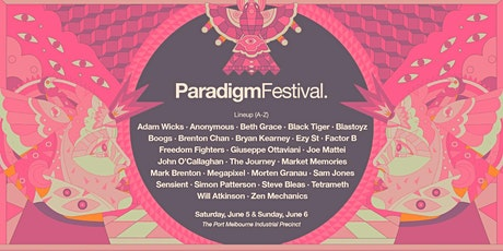 Paradigm Festival 2021 (Saturday) tickets