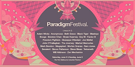 Paradigm Festival 2021(Sunday) tickets