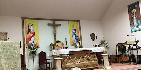 4 pm Saturday Evening 1st Vigil Mass for Pentecost tickets