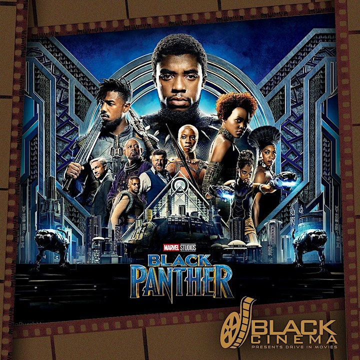 Black Cinema Drive In Movies - Black Panther (PG) Gates Open 19.30 image