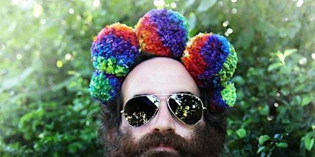 Rainbow Pom Pom Headdress Workshop Live Online tickets