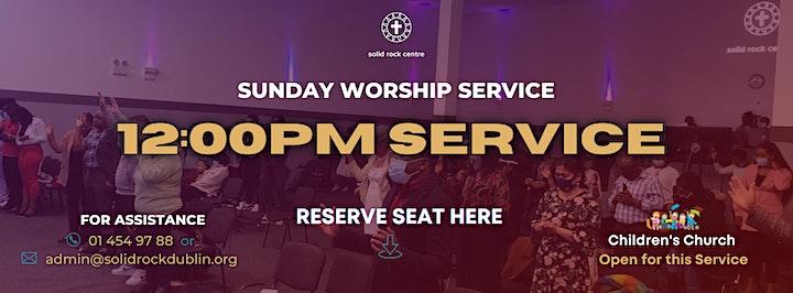SUNDAY 12:00PM WORSHIP SERVICE image