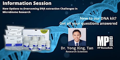 New Options to Overcoming  DNA Extraction Challenges in Microbiome Research tickets