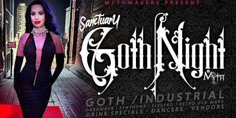 "2nd Sunday Sanctuary Presents ""Goth Night"" at Myth Nightclub | 06.13.21 tickets"