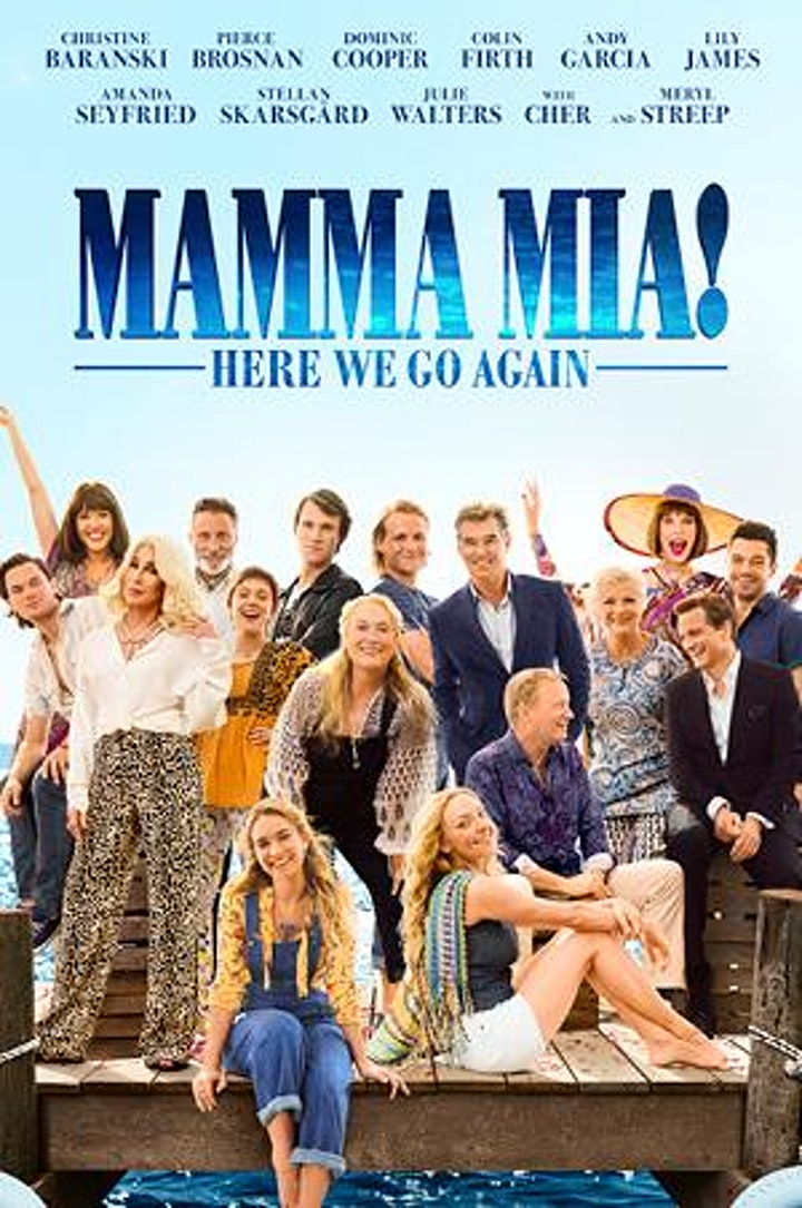 """Movie Screening: Sing-a-long with """"Mamma Mia: Here we go again!"""" image"""