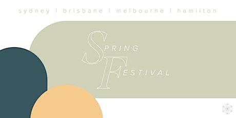 Isagenix Spring Festival Sydney tickets