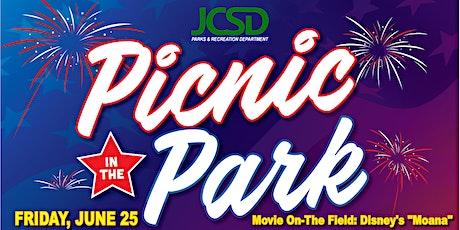 """Picnic In The Park - Friday, Movie Showcase """"Moana"""" tickets"""