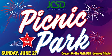 Picnic In The Park - Sunday, Concert In-The Field: DSB - Journey Tribute tickets