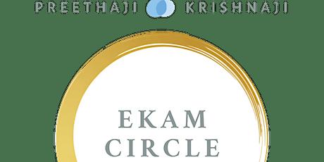 Círculo Ekam - Ekam Circle bilhetes