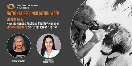Virtual Q&A: National Reconciliation Week tickets