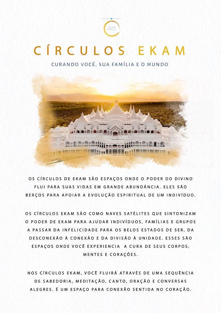 Imagem do evento Círculos Ekam Online - Ekam Circle Online