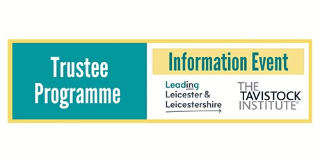 Trustee Programme - Information Event tickets