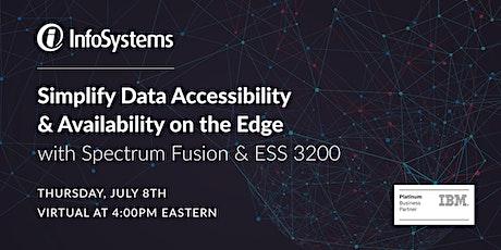 Webinar: Simplify Data Accessibility & Availability on the Edge tickets