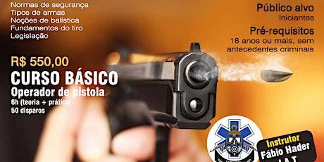 Curso Básico de Tiro (com pistola) ingressos