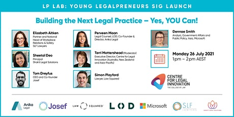Young Legalpreneurs SIG - Building the Next Legal Practice - Yes, YOU Can! tickets
