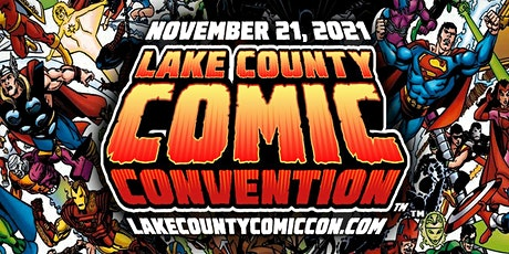 Lake County Comic Convention tickets