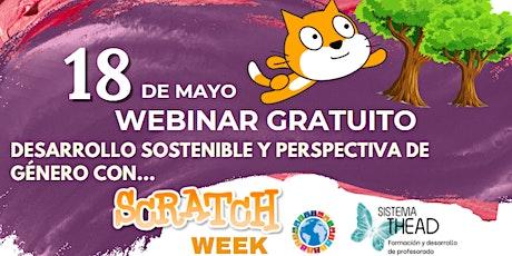 Inclusión, género y Desarrollo Sostenible con Scratch (ODS) boletos
